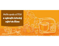ETA při nákupu nad 1000,- Kč rozdává výlety do Říma pro dva!