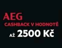 Cashback až 2500 Kč k sušičkám AEG