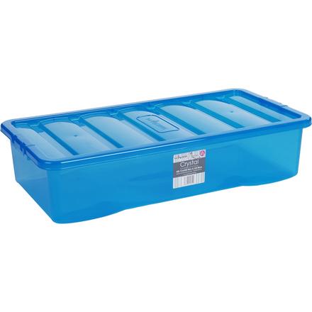 Box s víkem 42l Wham 11313 MODRÁ