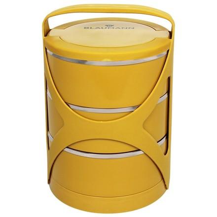 Jídlonosič Blaumann BL 3218zlut třípatrový žlutý