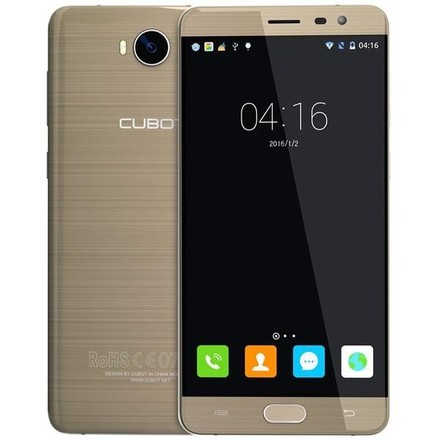 Mobilní telefon Cubot Cheetah 2 Dual SIM - zlatý