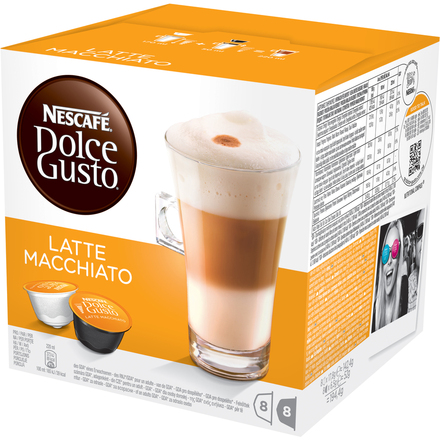 Kávové kapsle Nestle Nescafe Latte Macchiatto 12074750