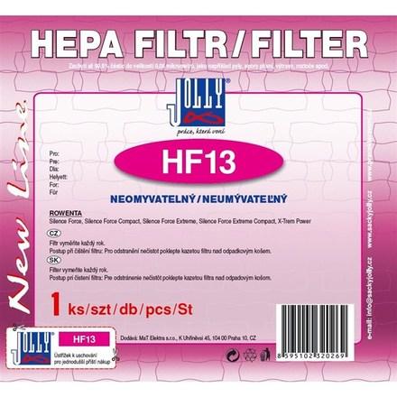HEPA filtr do vysavače Jolly HF13 pro Rowenta Silence, neomyvatelný