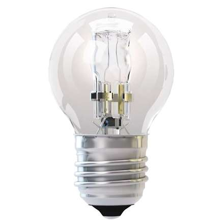 Halogenová žárovka Emos ZE1001 Halogenová žárovka ECO Mini Globe 18W E27 teplá bílá, stmív.