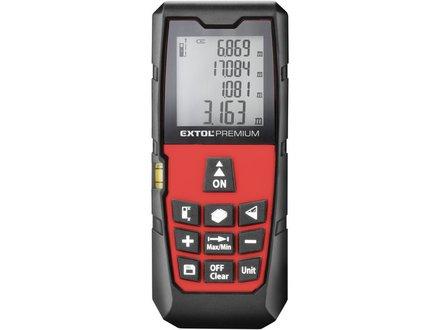 Laserový metr Extol Premium (8820043) metr laserový digitální, 0,05-80m