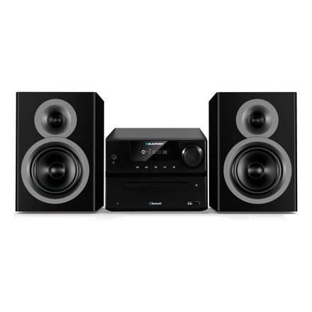 Mikrosystém Blaupunkt MS35BT FM/ CD/ MP3/ USB/ Bluetooth, černý
