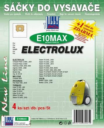 Sáčky do vysavače Jolly MAX E 10 Electrolux (4 ks)