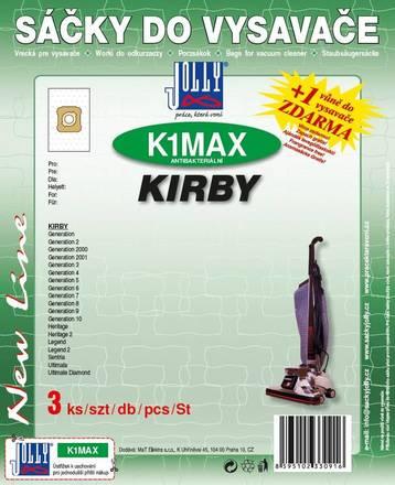 Sáčky do vysavače Jolly MAX K 1 Kirby (3 ks)