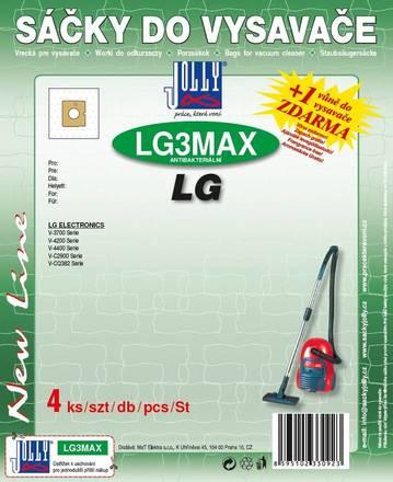Sáčky do vysavače Jolly MAX LG 3 (4 ks)
