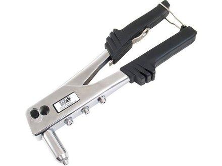 Kleště nýtovací Extol Premium (8813720) kleště nýtovací, 250mm, pro trhací nýty 2,4-3,2-4,0-4,8mm z hliníku a oceli, síla střihu 6500N, CrV