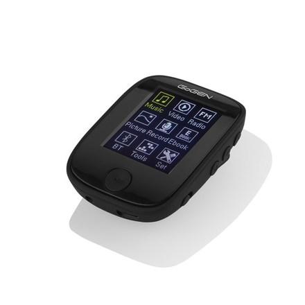 """MP3 přehrávač GoGEN MXM 421 GB4 BT B, s 1,7"""" displejem a bluetooth, černý"""