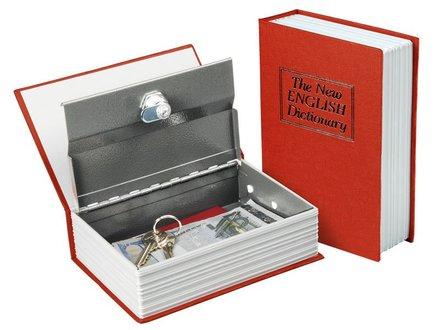 Schránka bezpečnostní Extol Craft (99016) schránka bezpečnostní - knížka, 180×115×54mm, 2 klíče