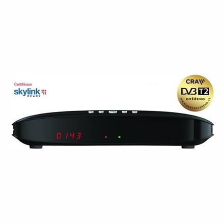 Satelitní přijímač GoSAT GS7075COMBOi SAT+DVB-T2 HEVC HbbTV