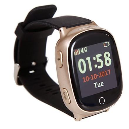 644285c6d Chytré hodinky Helmer LK 705 dětské s GPS lokátorem - bronzový