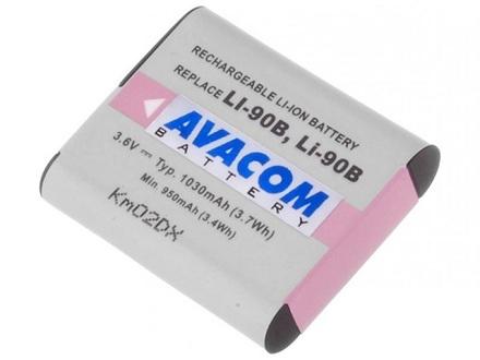 Baterie do fotoaparátu Avacom pro Olympus LI-90B/ LI-92B Li-ion 3.7V 1080mAh