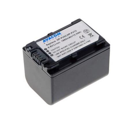 Akumulátor do videokamery Avacom Sony NP-FV70 Li-ion 6.8V 1960mAh 13Wh verze 2011