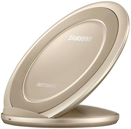 Nabíjecí stojánek Samsung EP-NG930 pro Galaxy S7 / S7 Edge - zlatý