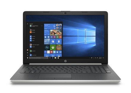 """Notebook 15,6"""" HP 15-db0004nc FHD ryz5-2500U/8GB/1TB+128SSD/ATI/DVD/2RServis/W10-silver (4BZ49EA#BCM)"""