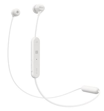 Sluchátka do uší Sony WI-C300W - bílá