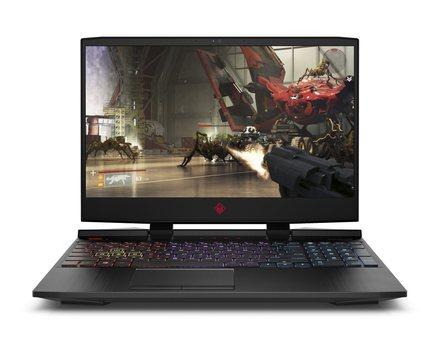 "Notebook 15,6"" HP Omen 15-dc0002nc FHD i7-8750H/16GB/1TB+512SSD/NV/2RServis/W10-black (4KD34EA#BCM)"