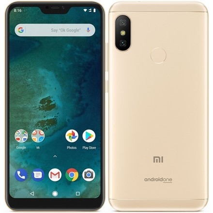 Mobilní telefon Xiaomi Mi A2 Lite (4GB/64GB), Gold