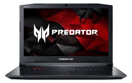 """Herní notebook 17,3"""" Acer PREDATOR Helios 300 - 17,3''/i7-8750H/8G/512SSD/GTX1050Ti/144Hz/W10 černý (NH.Q3EEC.001)"""