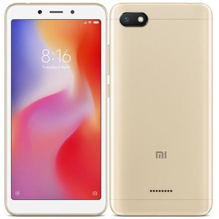 Mobilní telefon Xiaomi Redmi 6A Dual Sim 16 GB - zlatá