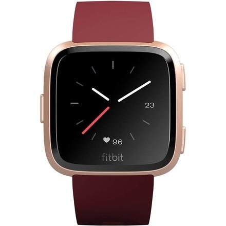 Chytré hodinky Fitbit Versa (NFC) - Merlot Band / Rose Gold Case