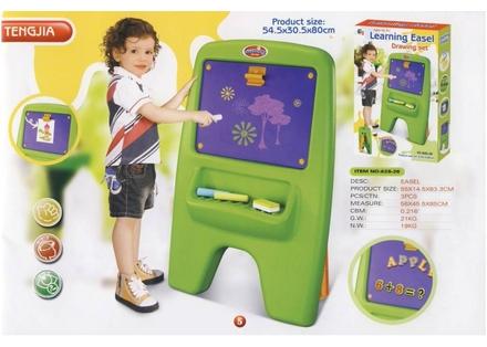 Dětská tabule G21 LEARNING DESK Dětská tabule magnetická s klipem