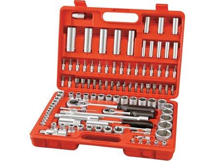 Klíče nástrčné Extol Premium (6528) klíče nástrčné, sada 108ks, CrV