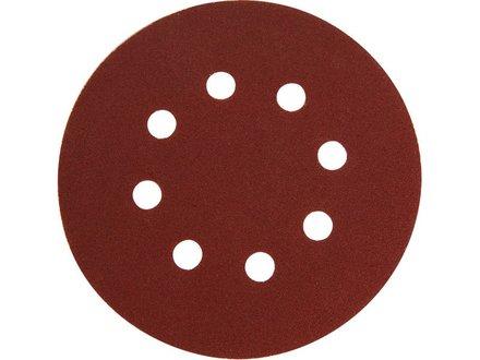 Brusný papír Extol Premium (8803566) papír brusný výsek, suchý zip, bal. 10ks, 125mm, P150