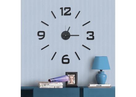 Samolepící hodiny G21 Samolepící hodiny Classic Style