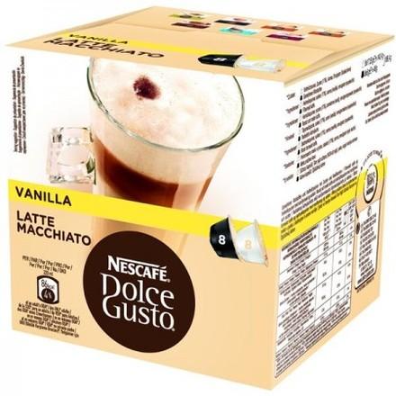 Balení 16 kapslí Nescafe Dolce Latte Vanilla 12125501