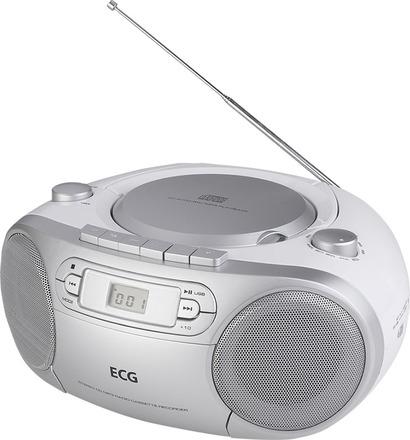 Radiomagnetofon ECG CDR 888 USB SILVER