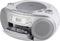 Radiomagnetofon ECG CDR 888 USB SILVER (1)