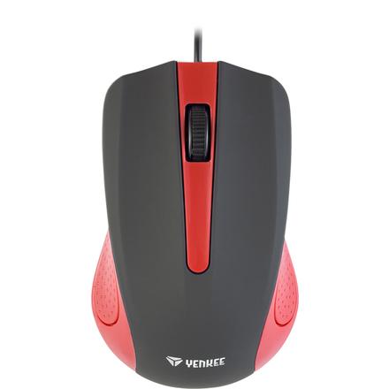 Počítačová myš Yenkee YMS 1015RD USB Suva červená