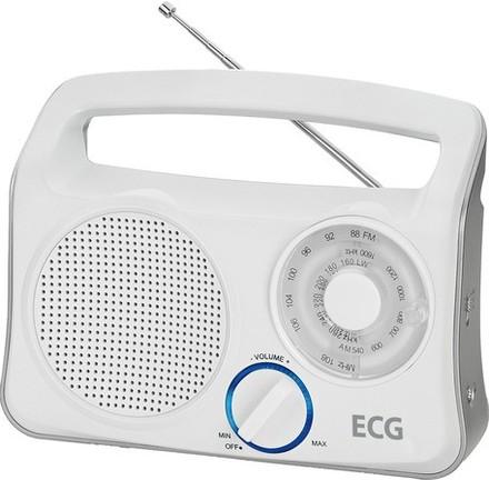 Přenosný radiopřijímač ECG R 222 WHITE