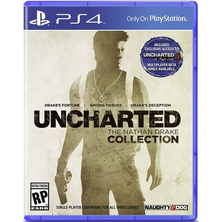 Hra pro PS4 Sony Uncharted Collection set 3 her PS4