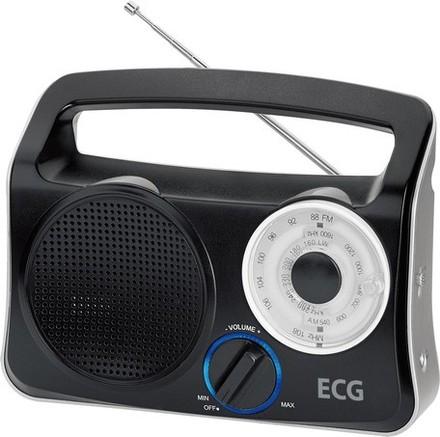 Přenosný radiopřijímač ECG R 222 BLACK