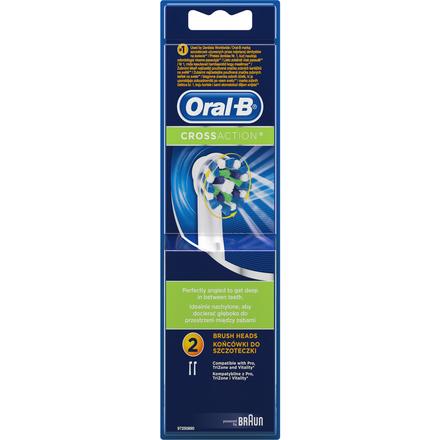 Náhradní kartáčky Oral-B EB 50-2 Cross Action