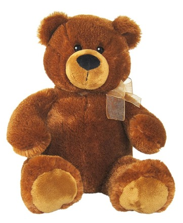 Plyšová hračka Alltoys Medvěd plyšový hnědý 45cm (50234C)