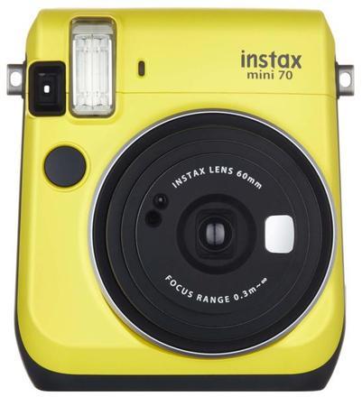 Kompaktní fotoaparát FujiFilm Instax MINI 70 Canary Yellow