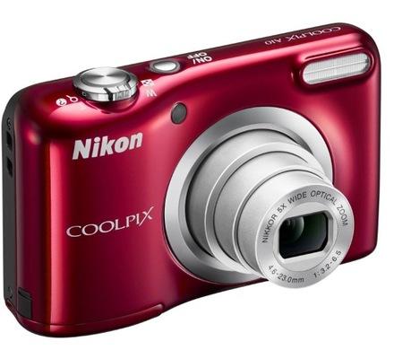 Kompaktní fotoaparát Nikon Coolpix A100 Red