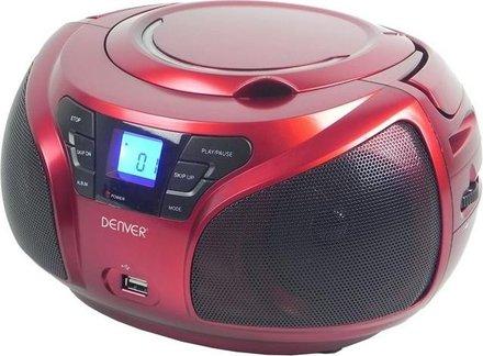 Radiopřijímač s CD/USB Denver TCU206 RED