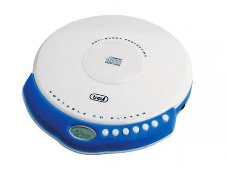 Stolní CD/MP3 přehrávač Trevi CMP 498/WH