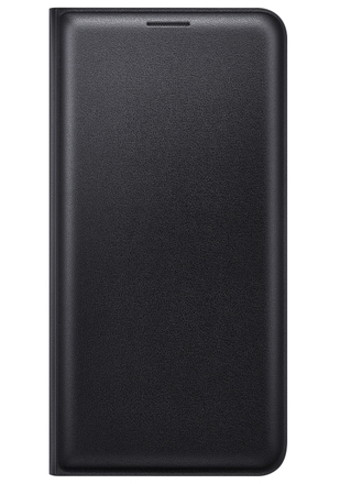 Pouzdro na mobil Samsung EF WJ510PB Flip pouzdro Galaxy J5, Black