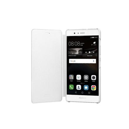 Pouzdro na mobilní telefon Flip Cover White pro Huawei P9 Lite