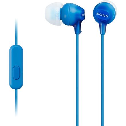 Sluchátka s mikrofonem Sony MDR EX15APLI