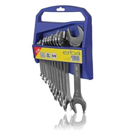 Klíč otevřený Erba ER 06092 Klíč otevřený oboustranný sada 12 ks 6-32 mm