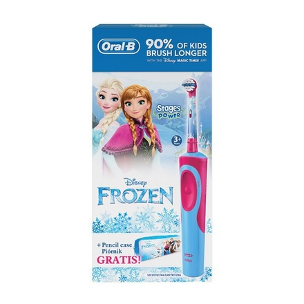 Zubní kartáček Oral-B Vitality Frozen + penál na zubní kartáček